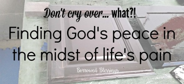 Finding God's Peace in the Midst of Life's Pain