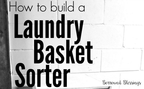 How to Build a Laundry Basket Sorter {an Ana White DIY Project}