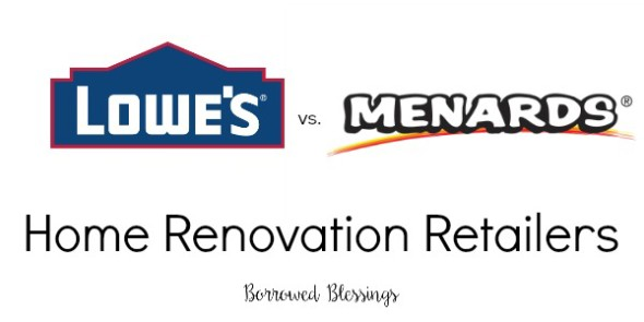 Big Box Home Improvement Retailer Comparison