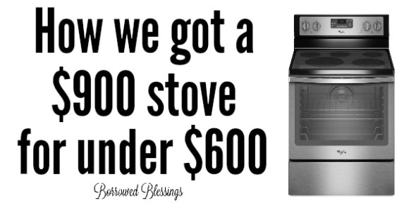 Appliance Deal: We Got a $900 Stove for Under $600