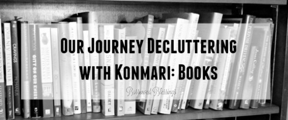 Our Journey Decluttering with Konmari: Books