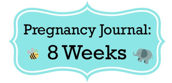 Pregnancy Journal Update: 8 Weeks