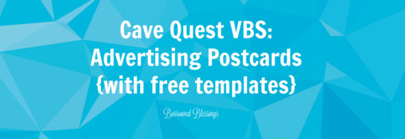 Cave Quest VBS: Advertising Postcards