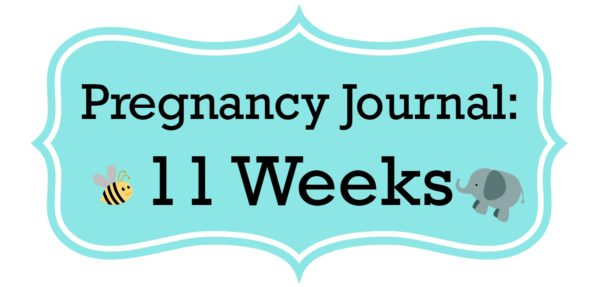 Pregnancy Journal Update: 11 Weeks