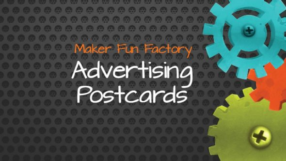 Maker Fun Factory VBS Postcards