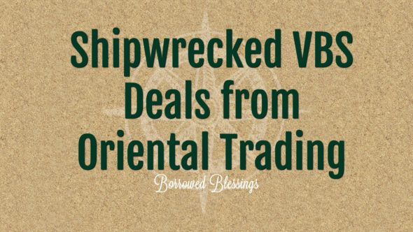 Shipwrecked VBS Deals from Oriental Trading