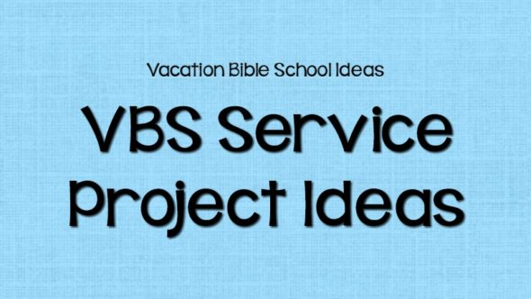 Shipwrecked VBS Service Project Ideas