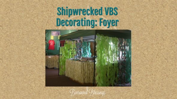 Shipwrecked Decorating Spaces: Foyer