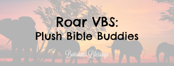 Roar VBS: Plush Bible Buddies