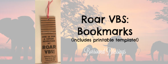 Roar VBS: Bookmarks