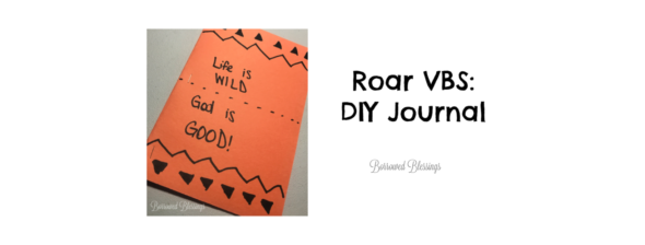 Roar VBS: DIY Journal