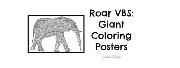 Roar VBS: Giant Coloring Posters
