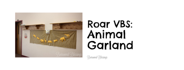 Roar VBS: Animal Garland