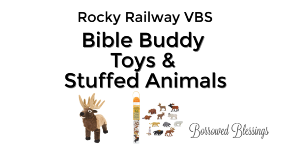 Rocky Railway VBS: Bible Buddy Toys & Stuffed Animals