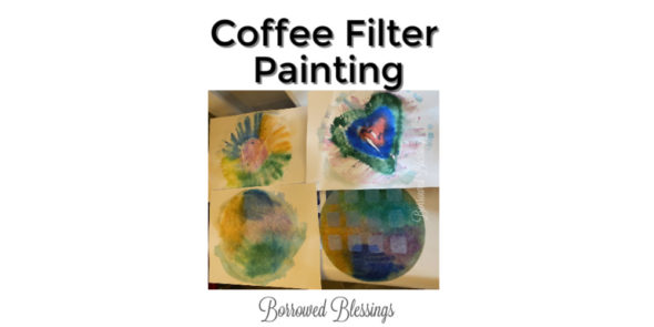 Coffee Filter Painting