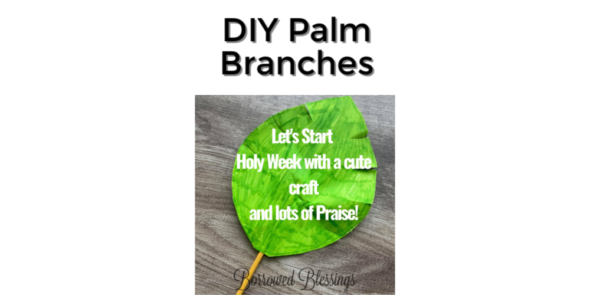 DIY Palm Branches