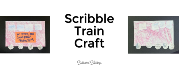 Rocky Railway VBS: Scribble Train Craft