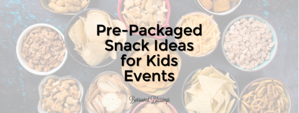 Pre-Packaged Snack Ideas for Kids Events