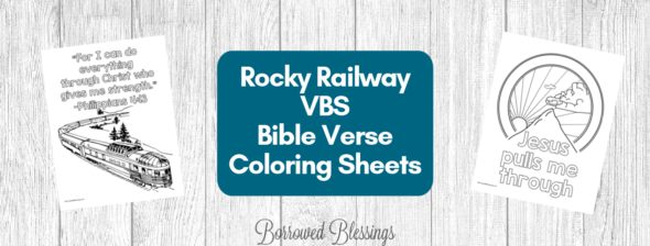 Rocky Railway VBS Coloring Sheets